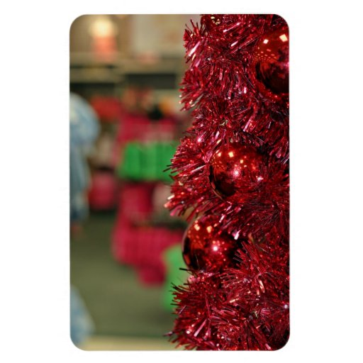 Décoration de Noël Magnets Rectangulaires