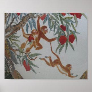 Décoration intérieure de Pl de fruits arboricoles Poster