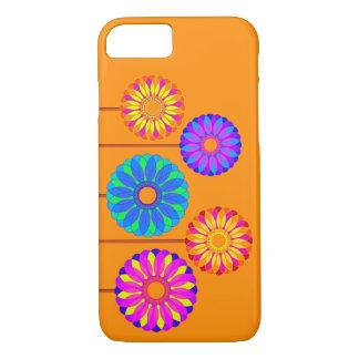 Décorations de fleur de vacances coque iPhone 7