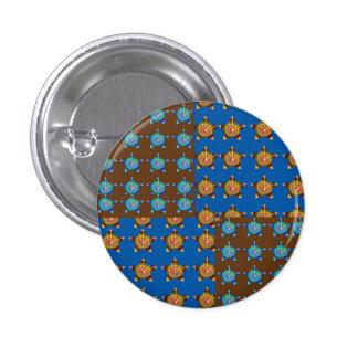 Décorations de Goldstar BlueSTAR : par NAVIN Joshi Badge Rond 2,50 Cm