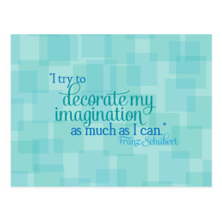 Décorez mon imagination carte postale