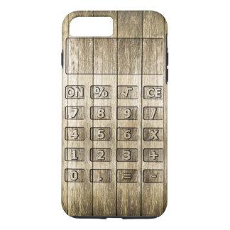 Découpage en bois (calculatrice) coque iPhone 7 plus