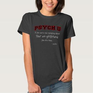 Découpe rouge PSYCH U votre ex-amie T-shirts