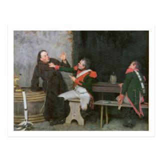 Découvert (huile sur toile) (une de paires - voyez carte postale