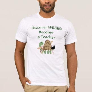 Découvrez le T-shirt de professeur de faune