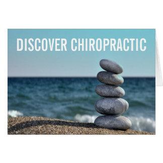 Découvrez les cartes de note de chiropractie