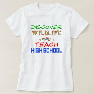Découvrez que la faune enseignent le T-shirt de