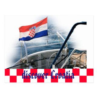 Découvrir la Croatie la carte de courrier