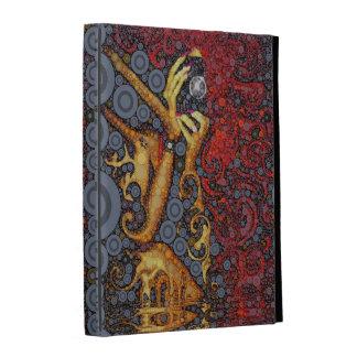 Décrivez cet art abstrait coques iPad folio