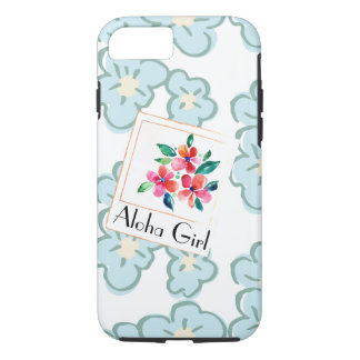 Décrivez un floral hawaïen heureux coque iPhone 7