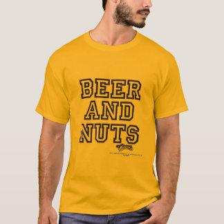 """D'écrous d'acclamations T-shirt de """"bière et"""""""