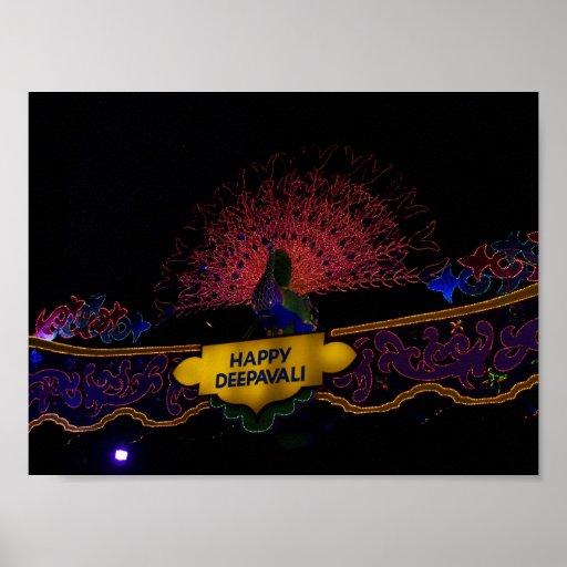 Deepavali heureux posters
