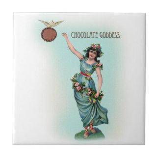 Déesse de chocolat Grecque Petit Carreau Carré