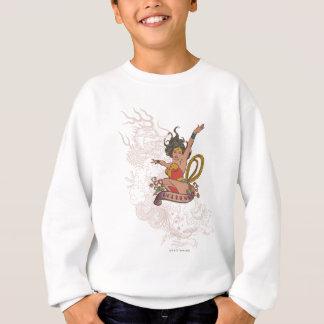 Déesse de femme de merveille sweatshirt
