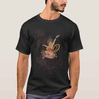 Déesse de femme de merveille t-shirt