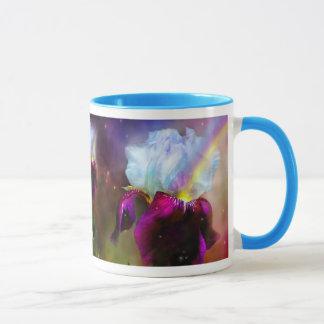 Déesse de la tasse d'iris d'arc-en-ciel