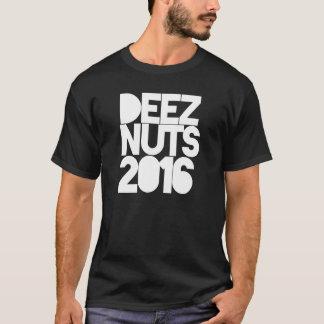 #DEEZNUTS 2016 D'ÉCROUS DE DEEZ T-SHIRT