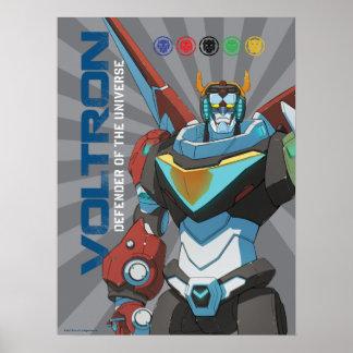 Défenseur de Voltron | de l'univers Posters