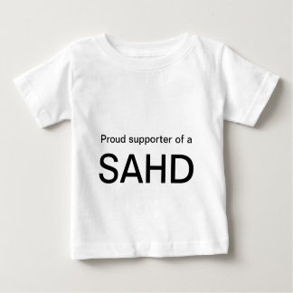 Défenseur fier d'a, SAHD T-shirt Pour Bébé