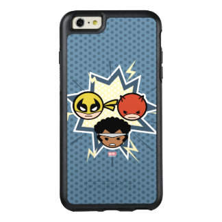 Défenseurs de Kawaii Coque OtterBox iPhone 6 Et 6s Plus