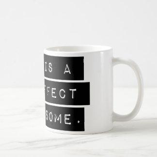 D'effet secondaire étrange mug blanc