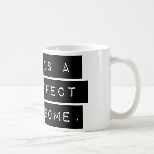 D'effet secondaire étrange tasse à café