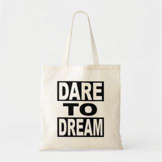 Défi au rêve sacs de toile