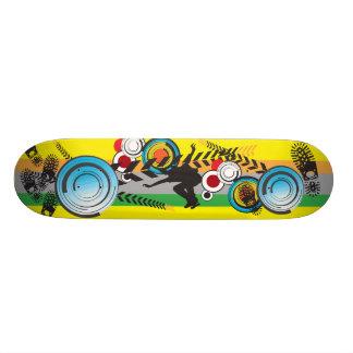 Défibreur de rue skateboard customisable
