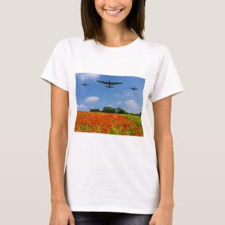 Défilé aérien de pavot de BBMF T-shirt