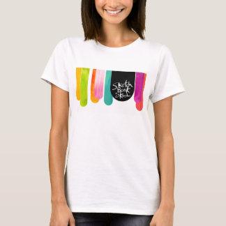 Défilé de baisse de Skool de carnet à dessins T-shirt