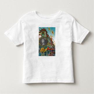 Défilé de Chinatown pour le festival de Portola T-shirt Pour Les Tous Petits