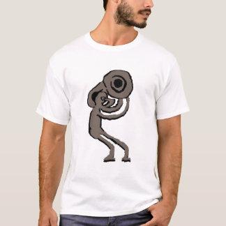 Défilé de Kokopelli de tuba T-shirt