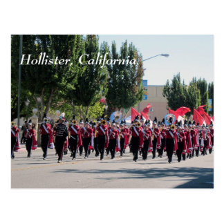 Défilé de retours au pays de lycée de San Benito Cartes Postales