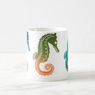 Défilé des hippocampes tropicaux mug