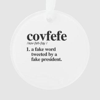 Définition de Covfefe - un faux mot