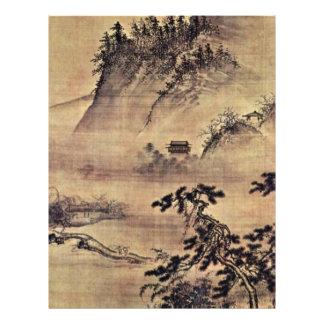 Défunt retour d'un voyage de ressort par Dai Jin ( Prospectus En Couleur