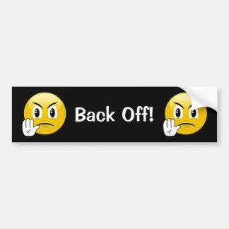 Dégagez l'adhésif pour pare-chocs d'Emoji Autocollant De Voiture
