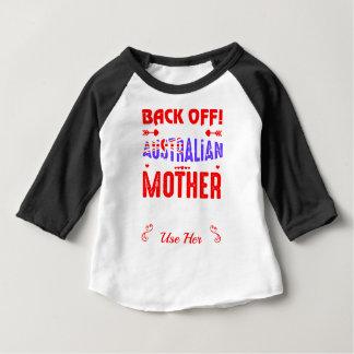 Dégagez l'utilisation non effrayée australienne t-shirt pour bébé