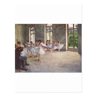Dégazez les danseurs classiques carte postale