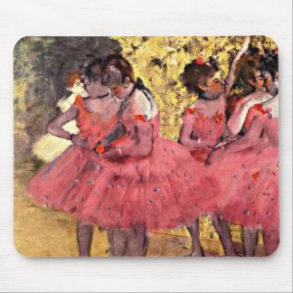 Dégazez : Les danseurs roses Tapis De Souris