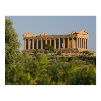 Dei Templi, 4 de l'Italie, Sicile, Agrigente, Carte Postale