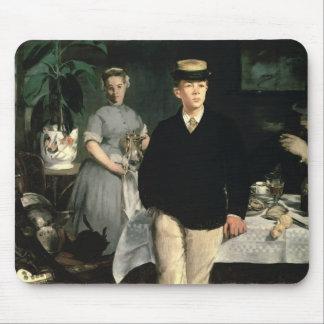 Déjeuner de Manet | dans le studio, 1868 Tapis De Souris