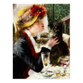 Déjeuner de Renoir de la carte postale de partie