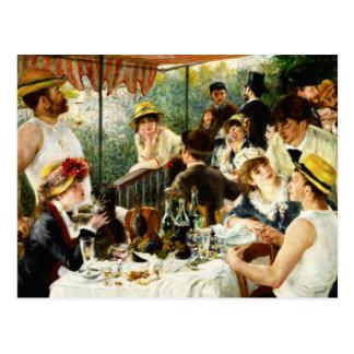 Déjeuner de Renoir de la carte postale de partie d