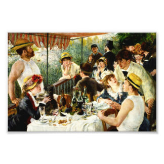 Déjeuner de Renoir de la copie de photo de partie