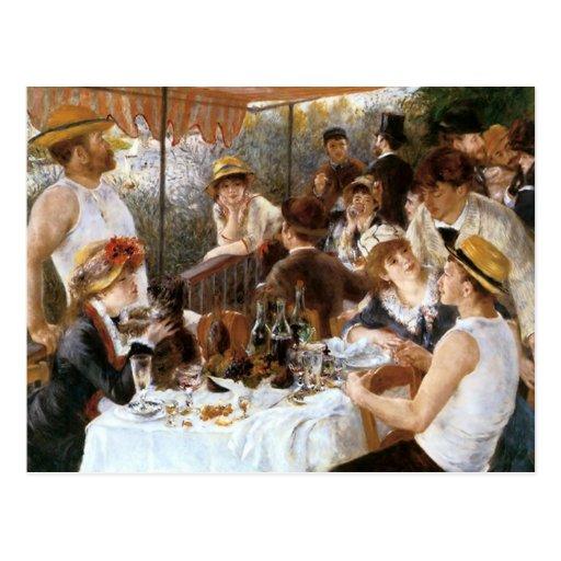Déjeuner du ` de Renoir de la partie de canotage' Carte Postale