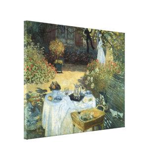 Déjeuner par Claude Monet, impressionisme vintage Toiles