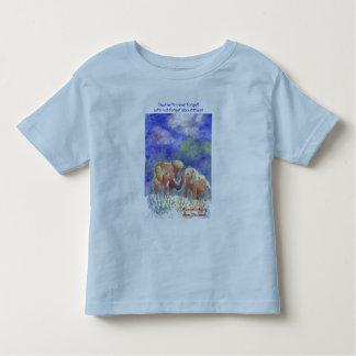D'éléphants foreget jamais ! t-shirts