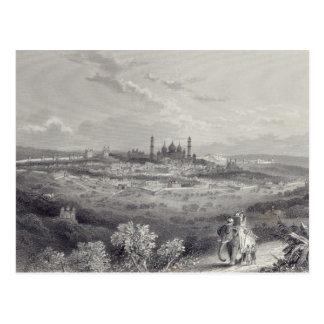 Delhi, gravé par Edouard Paxman Brandard Carte Postale