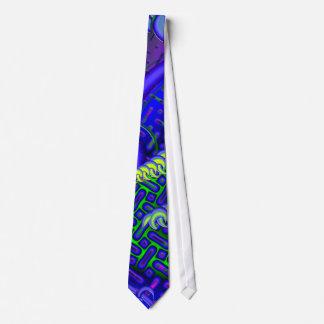 Délicat lambinez la fractale 3D Cravate Avec Motifs